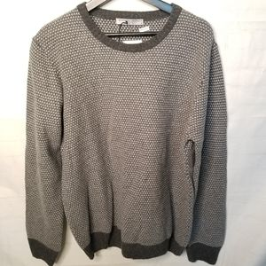 Blue sphere original wool blend crew neck sweater